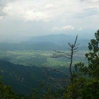 Photo taken at 有明山山頂 by Grana on 7/6/2013