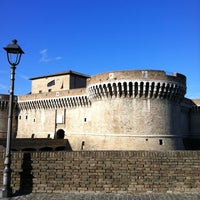 Photo taken at Rocca Roveresca by John Q. on 10/14/2012