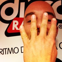 Photo taken at Discoradio by Fabio M. on 10/8/2014
