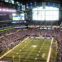 Photo taken at Lucas Oil Stadium by Asia W. on 11/25/2012