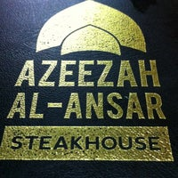 Photo taken at Azeezah Al Ansar Steak House by Mohd M. on 9/8/2013