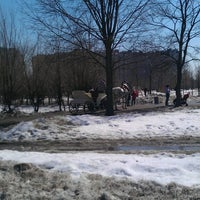 Photo taken at Сквер им. Кирова by Julia C. on 4/13/2013