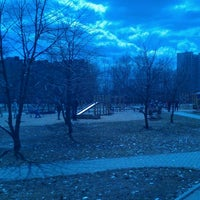 Photo taken at Сквер им. Кирова by Julia C. on 4/22/2013