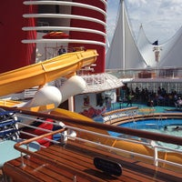 Photo taken at Disney Wonder by Modestos G. on 9/2/2013