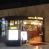 Photo taken at Ginza Lion by makio M. on 4/7/2013