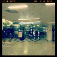 Photo taken at Namboku Line Shirokane-takanawa Station (N03) by makio M. on 11/11/2012