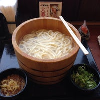Photo taken at 丸亀製麺 水口店 by 絆 エ. on 7/1/2015