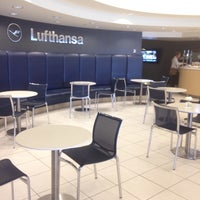 Photo taken at Lufthansa Business Lounge by Abhinav G. on 3/3/2016