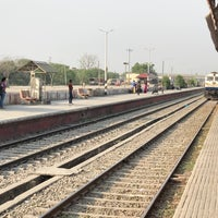 Photo taken at Rudrapur Railway Station by Abhinav G. on 4/3/2018
