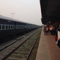 Photo taken at Rudrapur Railway Station by Abhinav G. on 10/25/2017