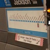 Photo taken at CTA - Jackson (Blue) by Jake S. on 11/8/2012