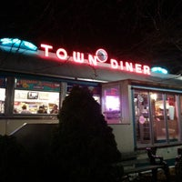 Photo taken at Deluxe Town Diner by Jake S. on 11/16/2013