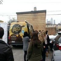 Photo taken at The Southern Mac & Cheese Truck by Jake S. on 11/6/2012
