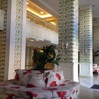 Photo taken at Airotel Stratos Vassilikos Hotel by Vassilikos on 11/22/2013