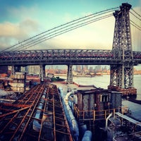 Photo taken at Domino Sugar Factory by Lindsey G. on 7/4/2013
