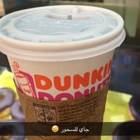 Photo taken at Dunkin Donuts @ Carrefour Airport by UAE L. on 6/5/2016