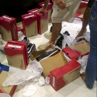 Photo taken at Saucony by UAE L. on 7/11/2013