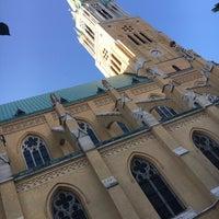 Photo taken at Plac Katedralny im. Jana Pawła II by EmineHan on 7/31/2017
