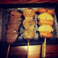 Photo taken at Yakitori Koshiji by Shannon H. on 2/23/2013