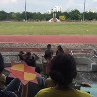 Photo taken at Main Stadium by Mink H. on 4/5/2017