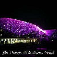 Photo taken at Yas Viceroy by Yared E. on 3/18/2013