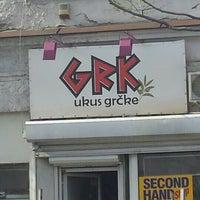 Photo taken at Grk - ukus Grcke by Vlada B. on 4/6/2016