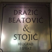 Photo taken at Dražić, Beatović & Stojić by Vlada B. on 6/21/2016