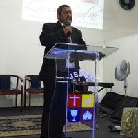 Photo taken at Igreja do Evangelho Quadrangular - Jd. Tremembé by Lucy A. on 9/29/2013