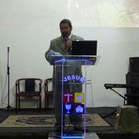 Photo taken at Igreja do Evangelho Quadrangular - Jd. Tremembé by Lucy A. on 10/27/2013