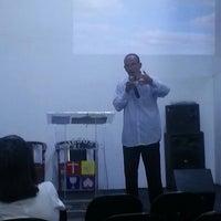 Photo taken at Igreja do Evangelho Quadrangular - Jd. Tremembé by Lucy A. on 1/19/2014