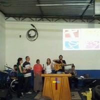 Photo taken at Igreja do Evangelho Quadrangular - Jd. Tremembé by Lucy A. on 11/24/2012