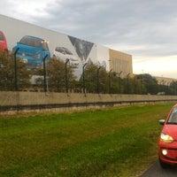 Photo taken at Volkswagen do Brasil by Luiz K. on 2/28/2016