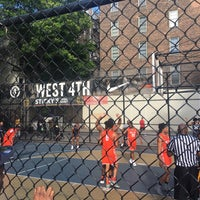 Photo taken at West 4th Street Courts (The Cage) by Kyle H. on 6/15/2018