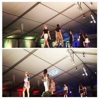 Photo taken at Omaha Fashion Week by Shelby B. on 8/25/2014