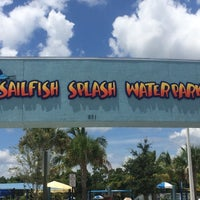 Photo taken at Sailfish Splash Waterpark by Katrina W. on 8/6/2014