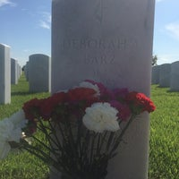 Photo taken at Jacksonville National Cemetery by Katrina W. on 8/10/2014
