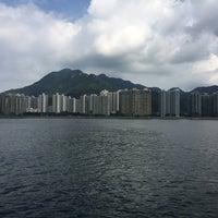 Photo taken at Ma Liu Shui Ferry Pier by Qaanlid I. on 10/2/2016