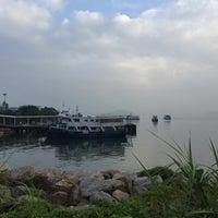 Photo taken at Ma Liu Shui Ferry Pier by Qaanlid I. on 10/1/2016