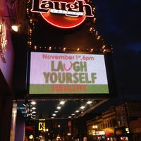 Photo taken at Laugh Factory by KT C. on 11/1/2012