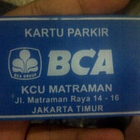 Photo taken at BCA KCU Matraman by Roby M. on 11/18/2014