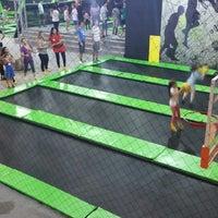 Photo taken at Jump Mania by Thiago L. on 7/15/2014
