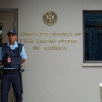 Photo taken at Consulado Geral dos Estados Unidos da América by Camila J. on 11/1/2012