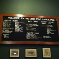 Photo taken at Blue Star Cafe & Pub by Paul K. on 3/21/2013