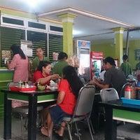 """Photo taken at Kedai Bubur Ayam """"Bunda"""" by Agus W. on 10/11/2015"""