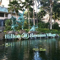Photo taken at Hilton Hawaiian Village Waikiki Beach Resort by Edward M. O. on 1/9/2013