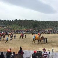 Photo taken at Ortaklar Deve Güreşi by Ramazan Y. on 3/18/2018