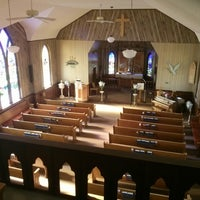 Photo taken at Saint John Lutheran Church by Kyle S. on 5/18/2014