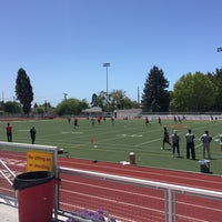 Photo taken at Berkeley High School by Miles S. on 6/14/2015