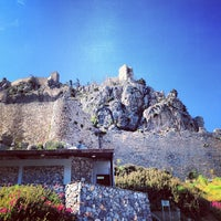 Photo taken at Saint Hilarion Castle by phiksu on 4/16/2013