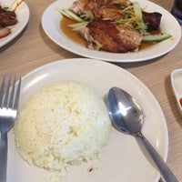 Photo taken at The Chicken Rice Shop by Fiffy A. on 7/30/2016